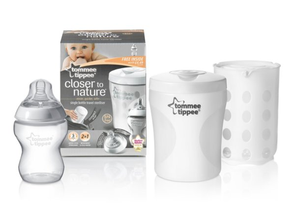 Tommee Tippee Бебешки стерилизатор за шишета  Closer to Nature 423100